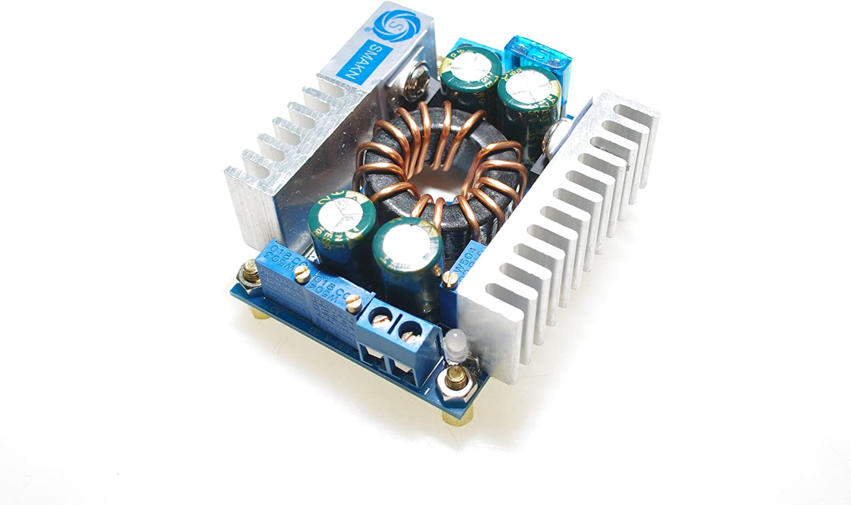 SMAKN 150W Max 8A 10-32V to 10-60V DC Buck Volt Converter Step Down 12V Car Power Supply Voltage Regulator