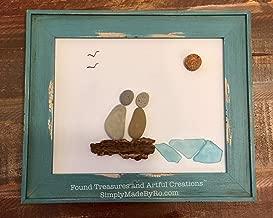 engagement pebble art