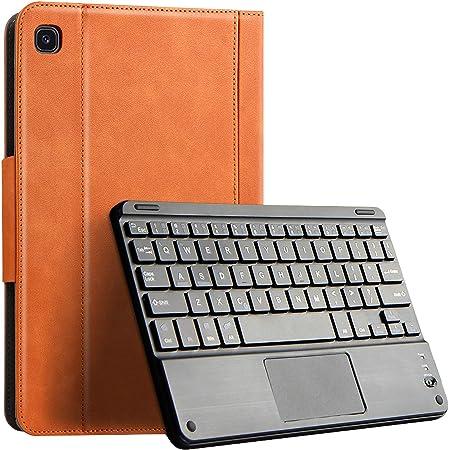 Aidashine Funda de Teclado para Samsung Galaxy Tab S6 Lite 10.4 Pulgadas 2020, Cubierta de Cuero de PU de Primera Calidad, Teclado inalámbrico ...