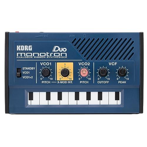 Korg Monotron Duo Dual Oscillator Analog Pocket Synthesizer