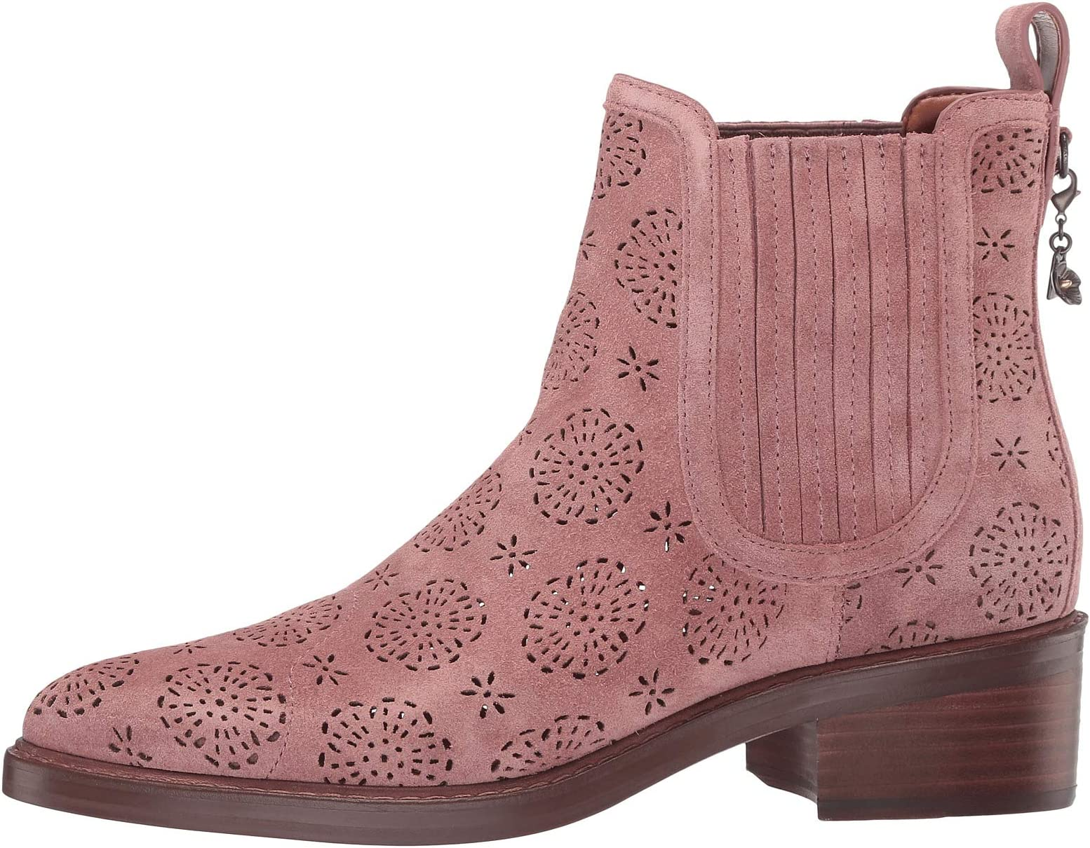 COACH Bowery Chelsea Boot with Cut Out Tea Rose | Women's shoes | 2020 Newest