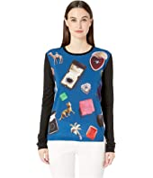 Paul Smith - Picture Printed Long Sleeve Tee