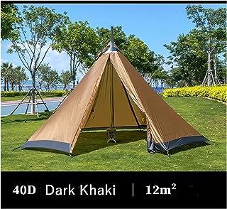 Youpin Växel stort utrymme pyramid Tipi-tält för 4–6 personer vattentätt vindtätt campingtält med snökjol familjetält 210...