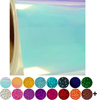 Threadart Chameleon Blue Heat Transfer Vinyl Film HTV | By the Yard | Use with Silhouette, etc | Available in 20 Colors