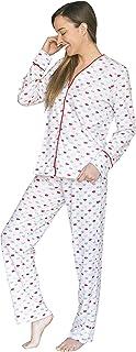 Tops Cómodo Juego de Pijama para Mujer