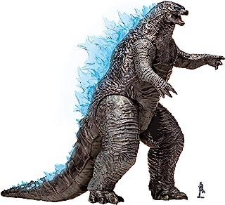 "Monsterverse Godzilla vs Kong 13"" Mega Figure - Godzilla with Lights & Sounds"