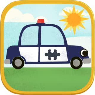 Car Games for Kids: Fun Cartoon Airplane, Police Car, Fire Truck, and Vehicle Jigsaw Puzzles HD for Toddler and Preschool