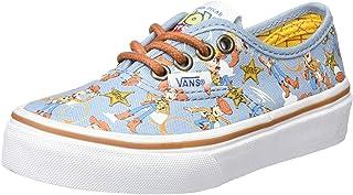 Vans Kids Authentic (Glow Check) Skate Shoe