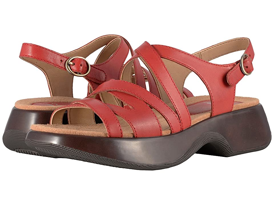 Dansko Lolita (Tomato Full Grain) Women