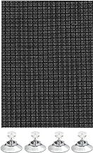 Gardinia 32966 Veelzijdige zonwering, zwart, 100 x 200 cm