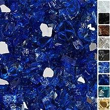Best blue glass fire rocks Reviews