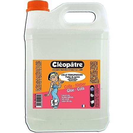 Cléopâtre - CT5L - Colle transparente - Bidon de 5 kg