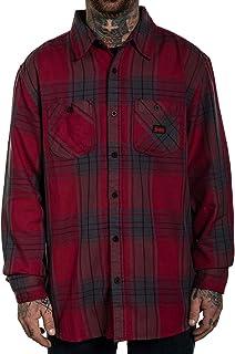 Sullen Men's Empire Flannel Long Sleeve Buttondown Shirt