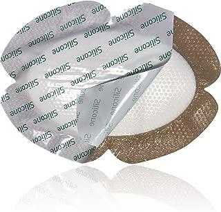 MedVance TM Silicone - Bordered Silicone Adhesive Foam Dressing, Back/Shoulder/Thigh/Abdomen, 6