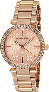 Michael Kors Women's Quartz Watch, Analog Display and Stainless Steel Strap MK6470