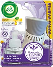Air Wick plug in Scented Oil, Starter Kit, Lavender and Chamomile 1ct, Essential Oils, Air Freshener