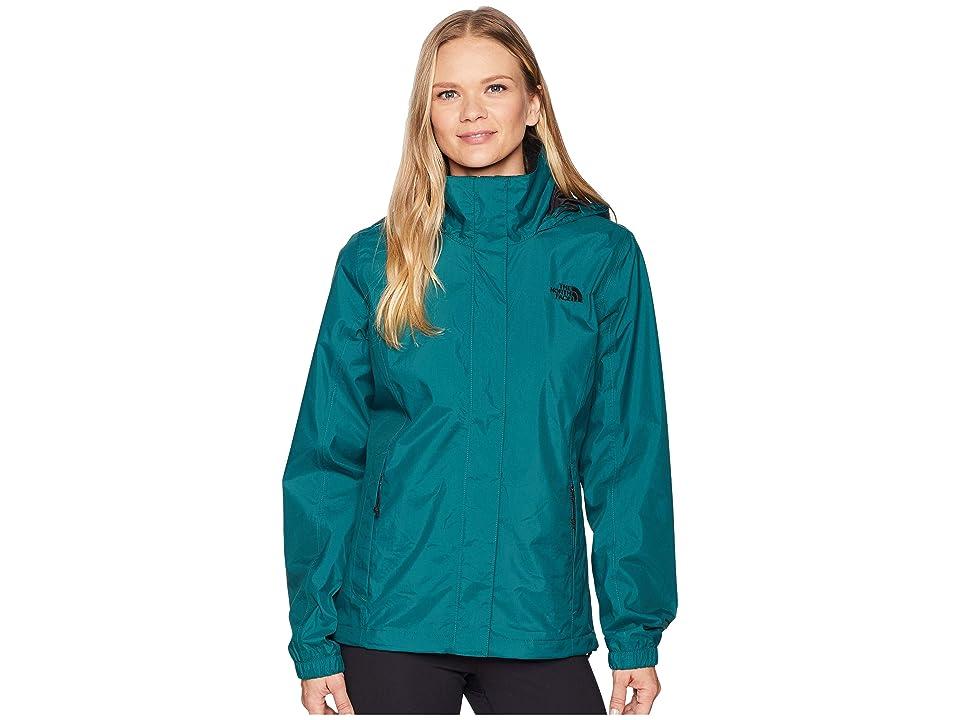 The North Face Resolve 2 Jacket (Botanical Garden Green/TNF Black) Women