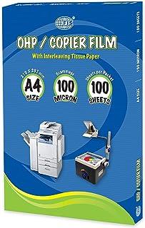 FIS OHP/Copier Films100 Sheets, A4 (210 x 297 mm) Size, 100 Microns - FSFM210X297P