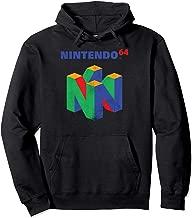 Nintendo 64 Classic Retro Vintage Logo Graphic Hoodie