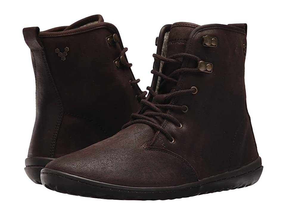 Vivobarefoot Gobi Hi-Top Leather (Dark Brown) Women