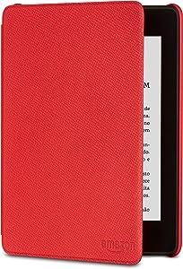Capa de couro para Kindle Paperwhite (10ª Geração não compatível com as versões anteriores do Kindle Paperwhite) - Cor Vermelha