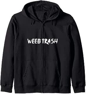 Weeb Trash Zip Hoodie