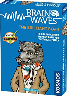 Thames & Kosmos 690823 Brainwaves: The Brilliant Boar | Brain-Training Fun for The Whole Family | Quick Memory Game, 1-5 P...