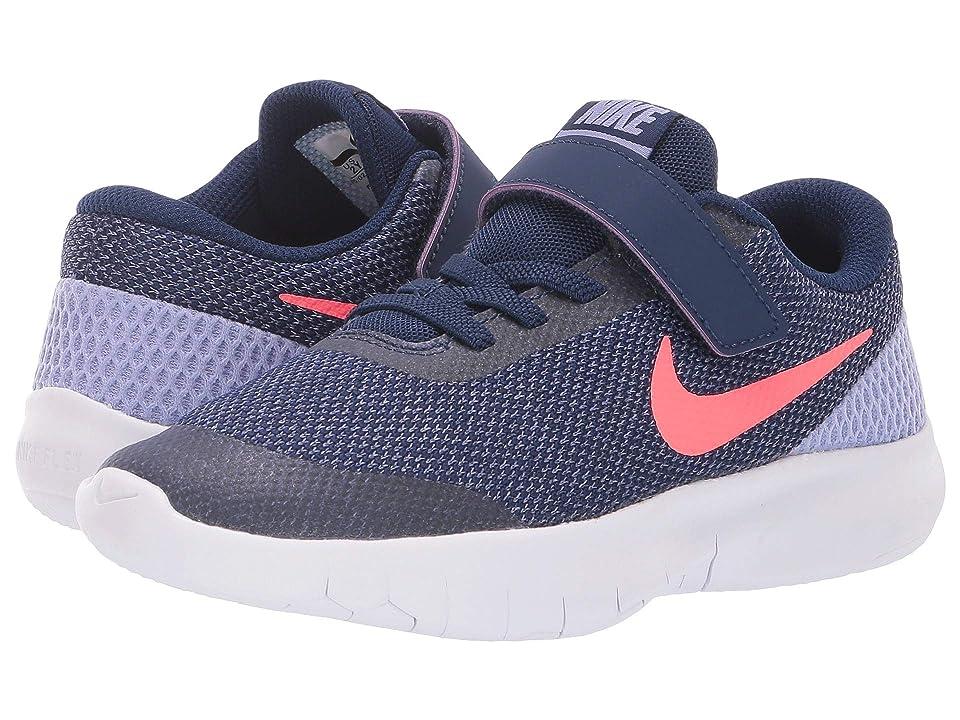 Nike Kids Flex Experience Run 7 (Little Kid) (Twilight Pulse/Flash Crimson/Blue Void) Girls Shoes