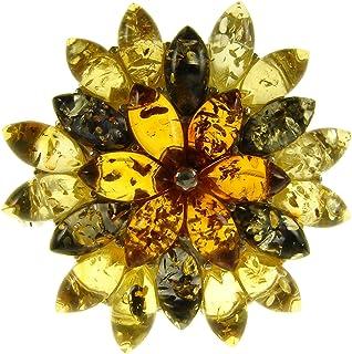Yellow Tone and Torquise and Cubic Zirconia Turtle Pin /& Pendant Combanation DiamondJewelryNY Turtle Pin