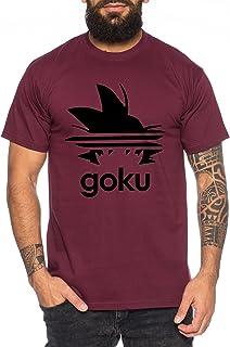 WhyKiki Adi Goku T-Shirt pour Homme Dragon Master Son Ball Vegeta Turtle Roshi DB