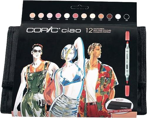 orden ahora con gran descuento y entrega gratuita Copic Ciao Ciao Ciao - Set de rojouladores (12 unidades, para dibujar manga), Colors carne  seguro de calidad