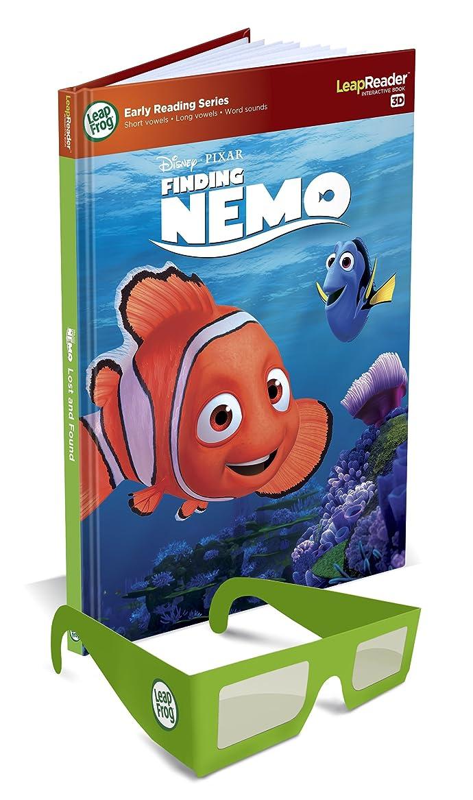 朝愛情深い樹木リープフロッグ(LeapFrog) ディズニーピクサー ファインディングニモ3D LEAPREADER BOOK, NEMO, 3-D 21335