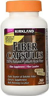 Kirkland Signature Kirkland Fiber Capsules, 2 Pack (360 Capsules Each)