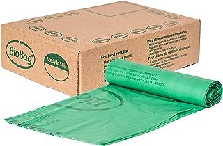 BioBag, The Original Compostable Bag, Kitchen Food Scrap Bags, ASTMD6400 Certified 100% Compostable Bags, Biodegradable Pr...