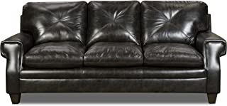 Simmons Upholstery Lucky Marble Lucky Marble Sofa, Charcoal
