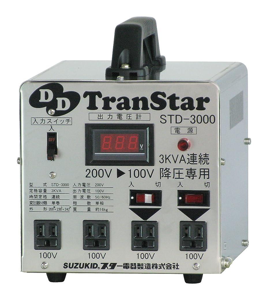 なぞらえる報奨金プラススズキッド(SUZUKID) 降圧器 DDトランスター STD-3000