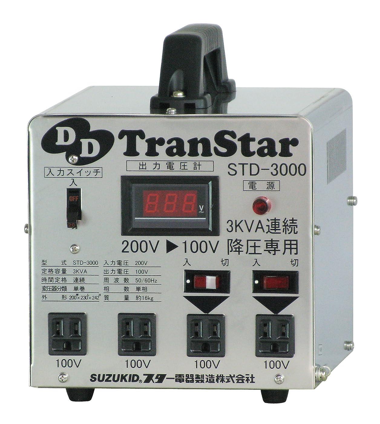 実質的ロデオ前文スズキッド(SUZUKID) 降圧器 DDトランスター STD-3000
