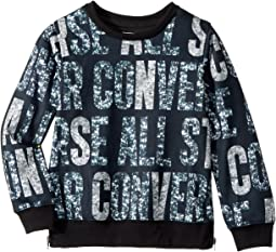 Converse Kids All Over Printed Pullover (Toddler/Little Kids)