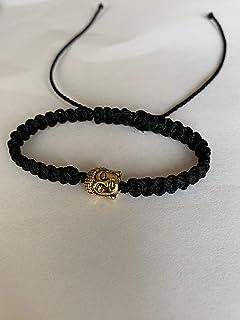 Suman's Handmade Black Thread Buddha Bracelet