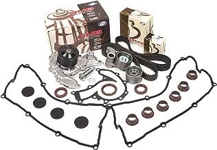Evergreen TBK303VC Fits 98-03 Isuzu 3.2 & 3.5 6VD1 6VE1 Timing Belt Kit Valve Cover Gasket GMB Water Pump