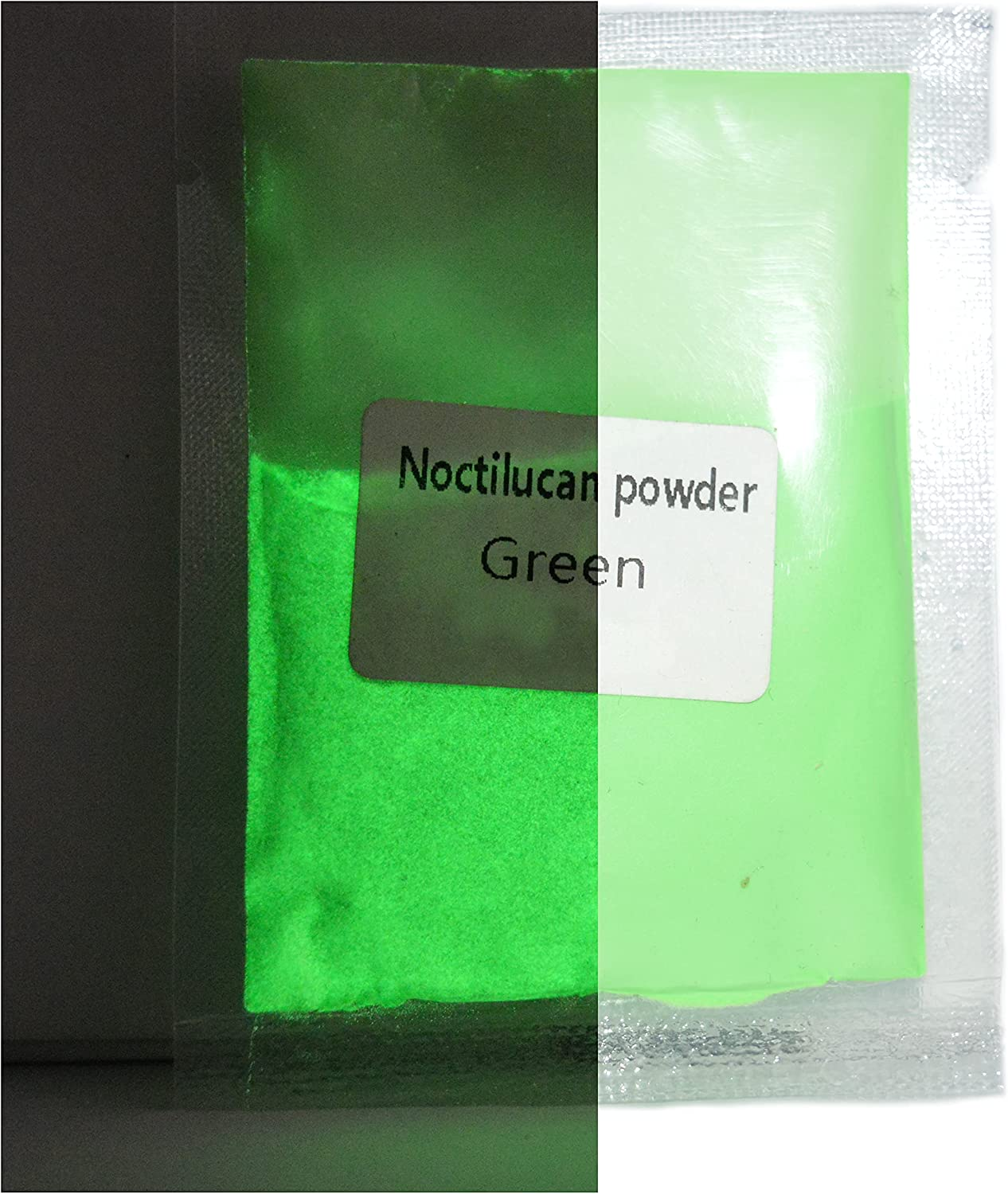 Craft4u Green Glow in The Dark Pigments. 30 . Ounce Sel All stores Max 58% OFF are sold Grams 1