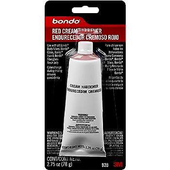 Bondo Red Cream Hardener, 00928, 2.75 oz