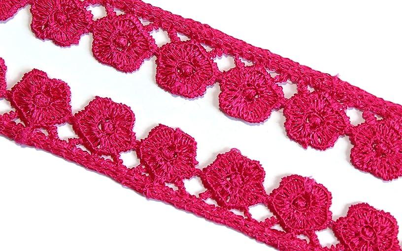 09 Yards of Scalloped lace Dress Crotchet Trim Ribbon by iDukaancrafts