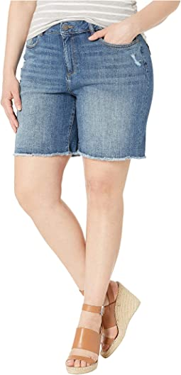 Plus Size Karlie Boyfriend Shorts in Ingram