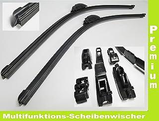 2 x Scheibenwischer (Set) passend für Citroen C5   alle Modelle 2001 2008 mit Adapter