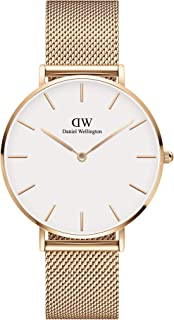 Daniel Wellington Petite Melrose Rose Gold Watch, Mesh, for Men and Women