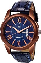 Redux Blue Dial Day and Date Functioning Men's Watch RWS0218S