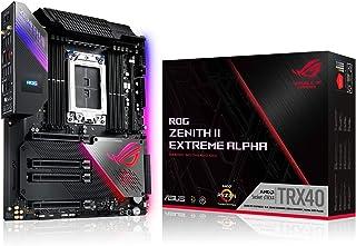ASUS ROG Zenith II Extreme Alpha - Placa Base Gaming AMD E-ATX sTRX4 3a Generación Ryzen Threadripper con 16 etapas de Pot...