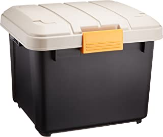 アイリスオーヤマ ボックス RVBOX 400 カーキ/ブラック 幅42×奥行37.5×高さ33cm