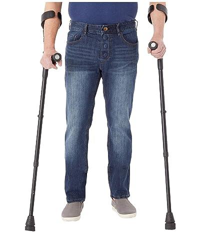 Seven7 Adaptive Adaptive Classic Straight Jeans w/ Magnetic Closure in Sarrant (Sarrant) Men